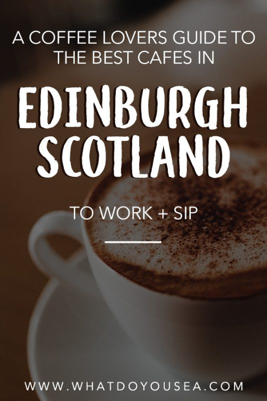 A coffee lovers guide to the best coffee shops in Edinburgh, Scotland. The third wave of coffee has sprung up many local spots and roasters that have stolen the hearts of locals and travelers. If you're traveling to Edinburgh and are in need of a solid latte, cappuccino, americano, flat white, and more, these are the top spots you can't miss! | Best Coffee Shops Edinburgh | Third Wave Coffee | Edinburgh Best Coffee Spots | Edinburgh Cafe | Coffee Travel Europe | Europe's Best Coffee Spots | Local Coffee Travel | #coffeetravel