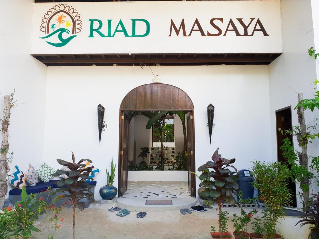 where to stay in siargao - riad masaya
