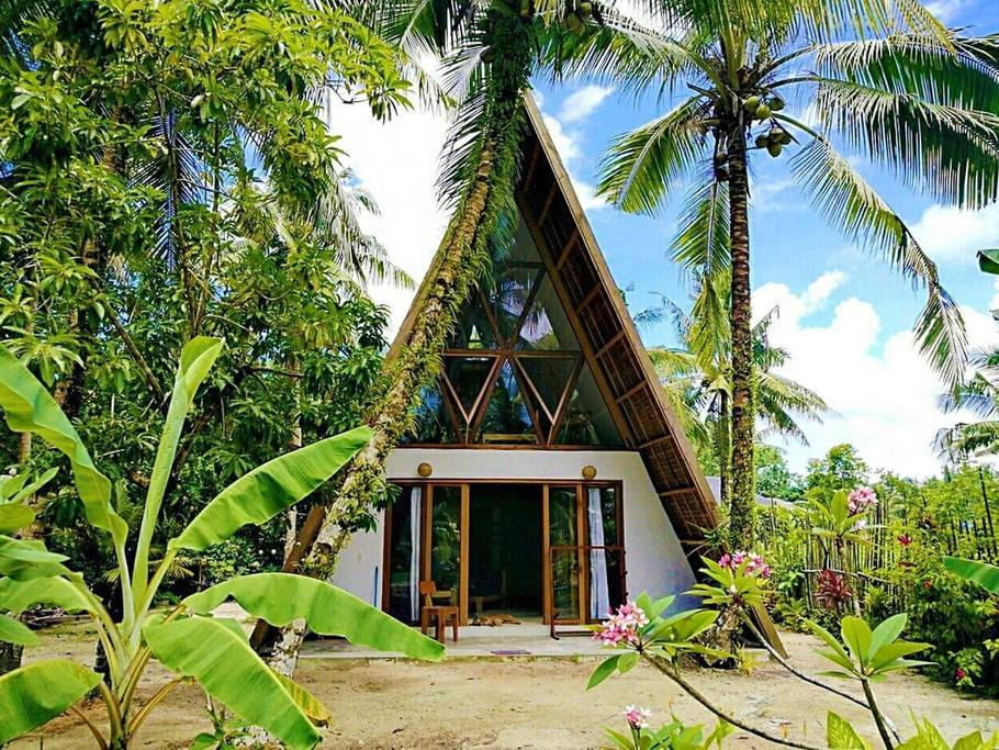 where to stay in siargao - the triangle