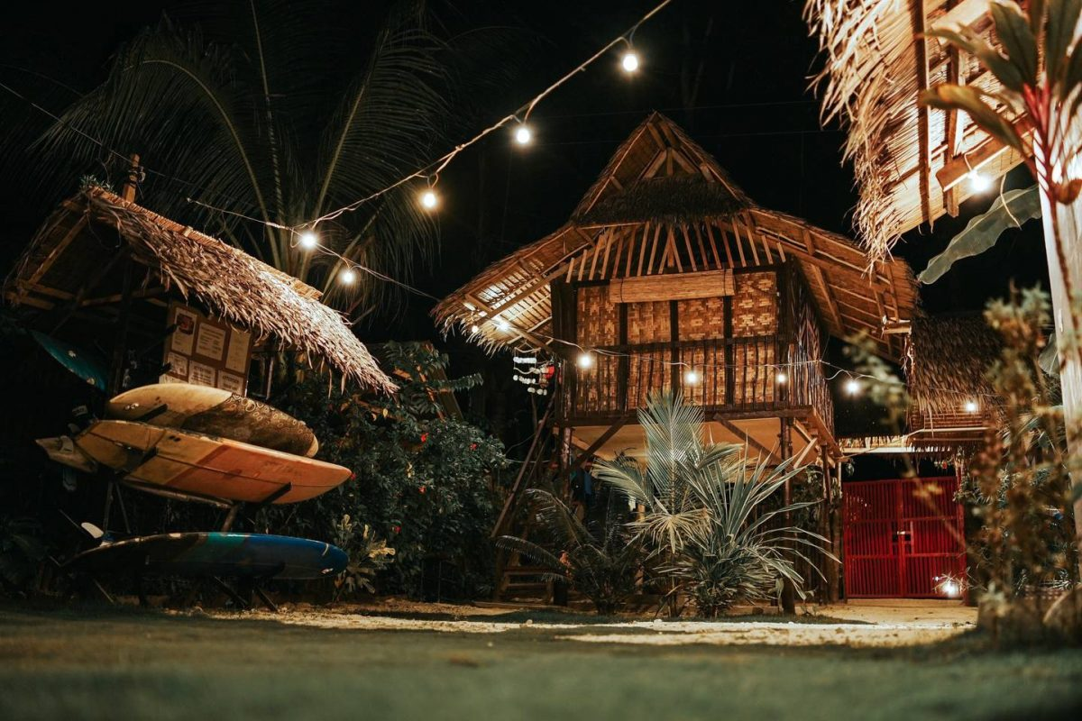 where to stay in siargao - kubo homestay property