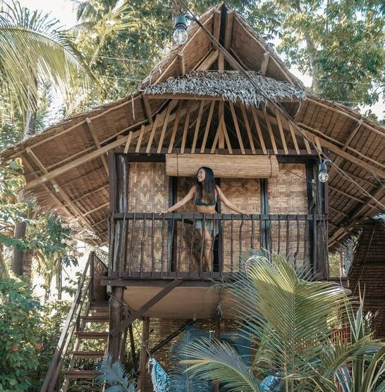where to stay in siargao - kubo homestay treehouse