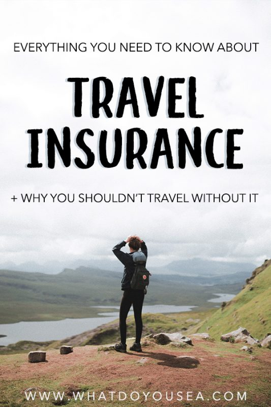 Is travel insurance on your mind but not on your budget? You may want to reconsider. It is an extra expense, after all, but knowing that you're covered while hiking mountains, cliff-jumping, and the unexpected will lift huge stress off your shoulders. Use this quick travel insurance guide to find the right insurance company for your needs and your budget! #travelinsurance #howtochoosetravelinsurance | Travel Insurance | Guide For Buying Travel Insurance | Tips For Buying Travel Insurance | Why You Need Travel Insurance | Best Travel Insurance |