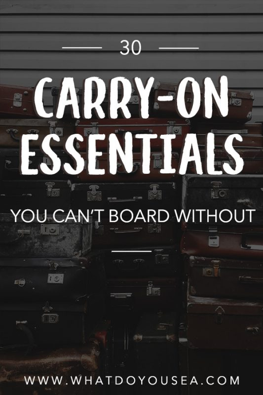 Getting prepared to board a flight? These are thirty of my carry on essentials that make flying comfortable, safe, healthy, and actually enjoyable! | Carry On Essentials | How To Pack A Carry On | Carry On Must Haves | Hand Luggage Essentials | How To Pack Hand Luggage Only | Carry On Travel | Best Items For Carry On Travel | #carryonessentials #carryon