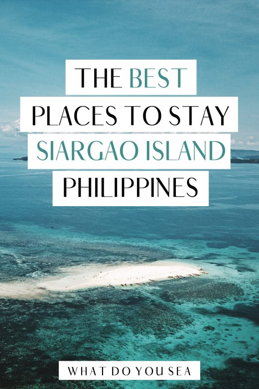 Whether you're planning on surfing the infamous Cloud 9 surf break, relaxing in luxurious villas, island hopping, and seeing some of the most beautiful sunsets, finding where to stay on Siargao Island is no challenge. The variety of hotels, hostels, guesthouses, and villas are perfect for those seeking a beautiful place to call home while on your travels to the Philippines. Look no further than the BEST places to stay in General Luna and Pacifico with this guide! #visitphilippines #philippines