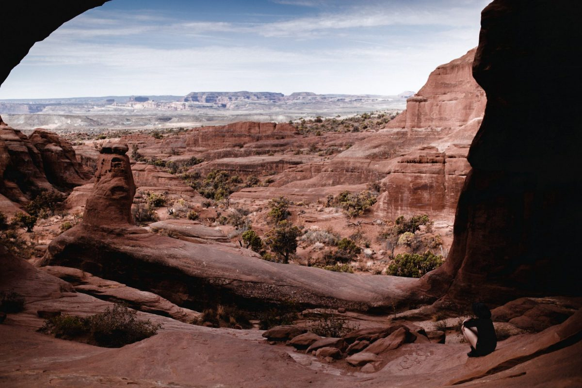 tower arch in arches national park
