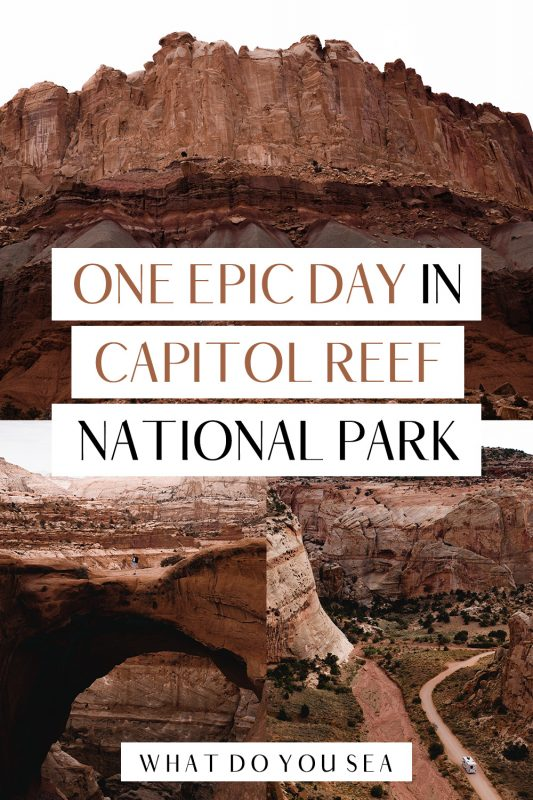 Looking for the best Capitol Reef National Park itinerary for only one day? Allow me to take you through the most beautiful parts of this special Utah park! Explore all the top photography and hiking locations, scenic drives, and petrogylphs in this park! Don't forget to download the FREE map for your adventure!